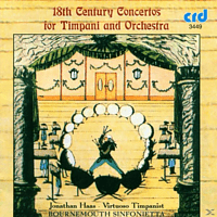 Haas, Farberman, Bournemouth Sinfonietta, Haas/Farberman/Bournemouth Sinfonietta - Concertos For Timpani And Orchestra [CD]