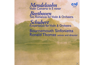 Tom T. Hall, Bounremouth Sinfonietta, Thomas/Bounremouth Sinfonietta - Mendelssohn:Violin Concert - (CD)