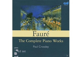 Piano Paul Crossley, Paul Crossley - SÄMTLICHE WERKE FÜR KLAVIER - (CD)