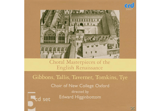 The The, Edward/choir Of New College Oxford Higginbottom - English Renaissance Choral - (CD)
