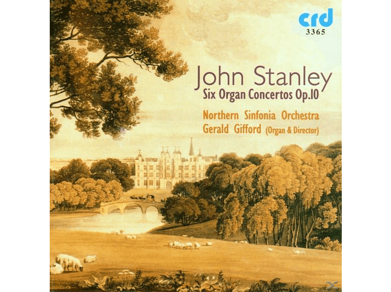 Gifford, Northern Sinfonia Orchestra, Gifford/Northern Sinfonia Orchestra - Stanley Orgelkonzerte op.10 [CD]
