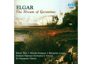 Hodgson Tear Luxon Gibson, Tear/hodgson/gibson/scottish National Orchestra - Elgar:dream Of Gerontius - (CD)