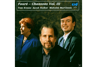 Krause, Walker Krause Martineau - Faure Melodies Vol.3 - (CD)