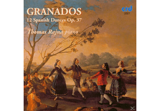 Thomas Rajna - Granados 12 Spanish Dances - (CD)