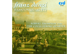 The Coull Quartet, Thompson, Thompson/Coull Quartet - Danzi:Bassoon Quartets - (CD)