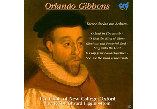 Edward/choir Of New College Oxford Higginbottom - Zweite Messe Und Hymnen - (CD)
