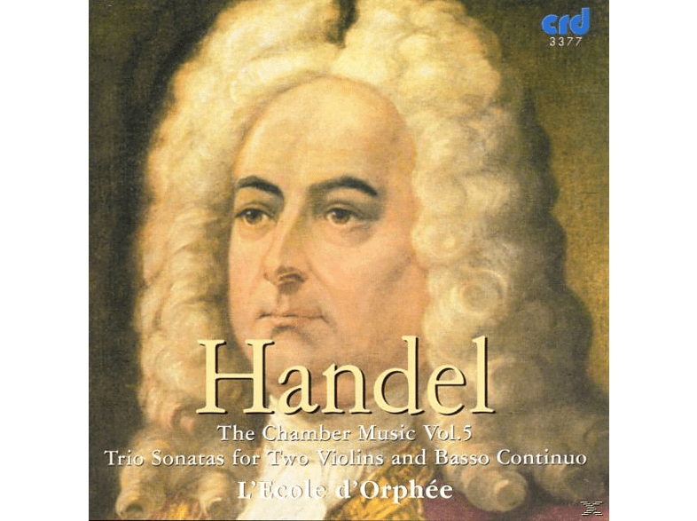 Ecoled Orphee, Ecole D'orphee - Händel Chamber Music Vol.5 [CD]