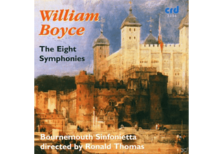 Tom T. Hall, Bournemouth Sinfonietta, Thomas/Bournemouth Sinfonietta - Boyce:8 Sinfonien - (CD)