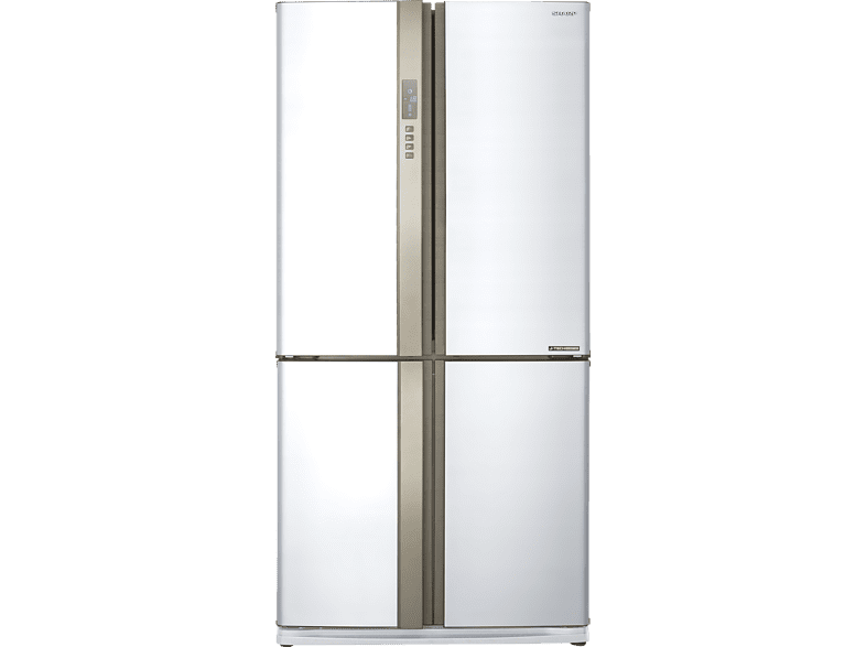 SHARP SJ-EX 820 FWH Side-by-Side (370 kWh/Jahr, A++, 1830 mm hoch, Weiß)