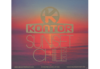 VARIOUS - Kontor Sunset Chill 2016 [CD]