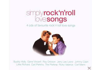 VARIOUS - Simply Rock'n'Roll Love Songs - (CD)