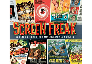 VARIOUS - Screen Freak [CD]