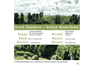 Orchestre Radio-Symphonique Paris, New Philharmonia Orchestra London - Ouvertüren-Galathee-W.Tell - (CD)