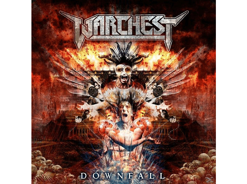 Warchest - Downfall [CD]