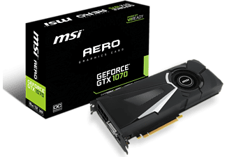 MSI GeForce® GTX 1070 Aero, 8GB GDDR5 (V330-011R)