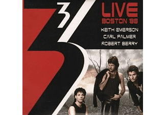 Keith Emerson, Carl Palmer, Robert Berry - Live Boston '88 - (CD)