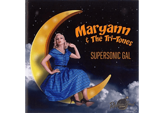 Maryann & The Tri-tones - Supersonic Gal - (CD)