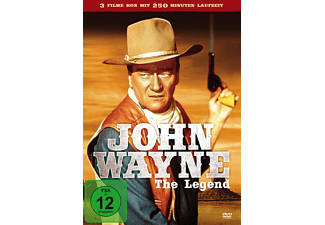John Wayne - The Legend (California Goldrausch, Erdbeben in San Francisco, Desert Trail) - (DVD)