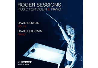 David Bowlin, David Holzman - Music For Violin & Piano - (CD)
