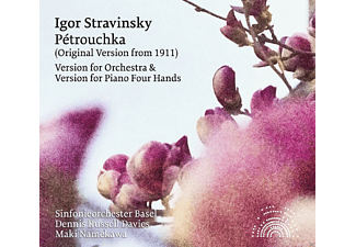 Dennis Russel Davies, Maki Namekawa, Sinfonieorchester Basel - Stravinsky: Pétrouchka (Orchestral and Piano Four - (CD)