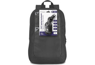 "TARGUS Intellect 15.6"" Laptop Backpack & Wired Mouse - (BEU3189-01P)"
