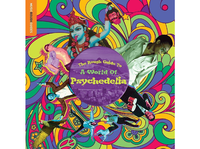 VARIOUS - Rough Guide: A World Of Psychedelia [LP + Download]