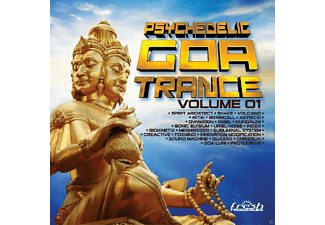 VARIOUS - Psychedelic Goa Trance 1 - (CD)