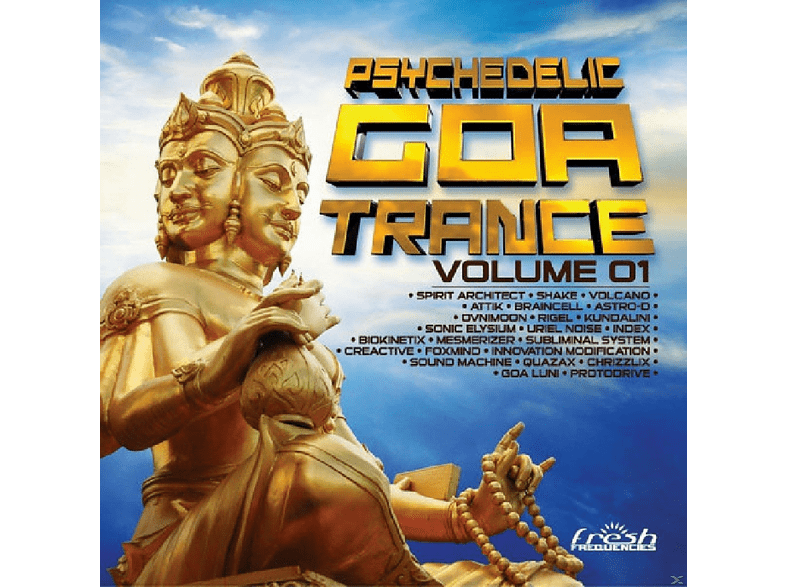 VARIOUS - Psychedelic Goa Trance 1 [CD]