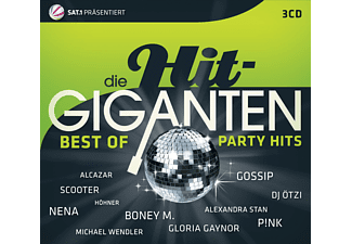 VARIOUS - Die Hit Giganten Best Of Party - (CD)