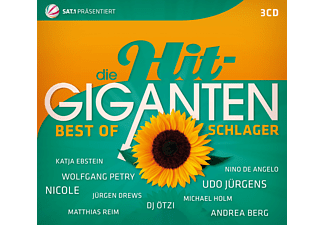 VARIOUS - Die Hit Giganten Best Of Schlager - (CD)