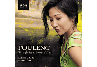 Lucille Chung, Alessio Bax - Works for Piano Solo and Duo - (CD)