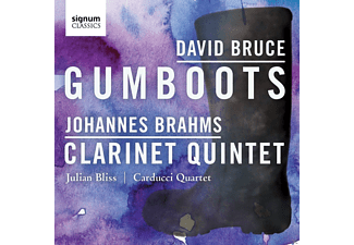 Julian Bliss, Carducci String Quartet - Gumboots / Klarinettenquintett Op.115 - (CD)