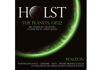 BBC Symphony Orchestra, The Halle Orchestra, Sir William Turner Walton, Sir Adrian Boult - Holst-Planet Suite & Spitfir - (CD)