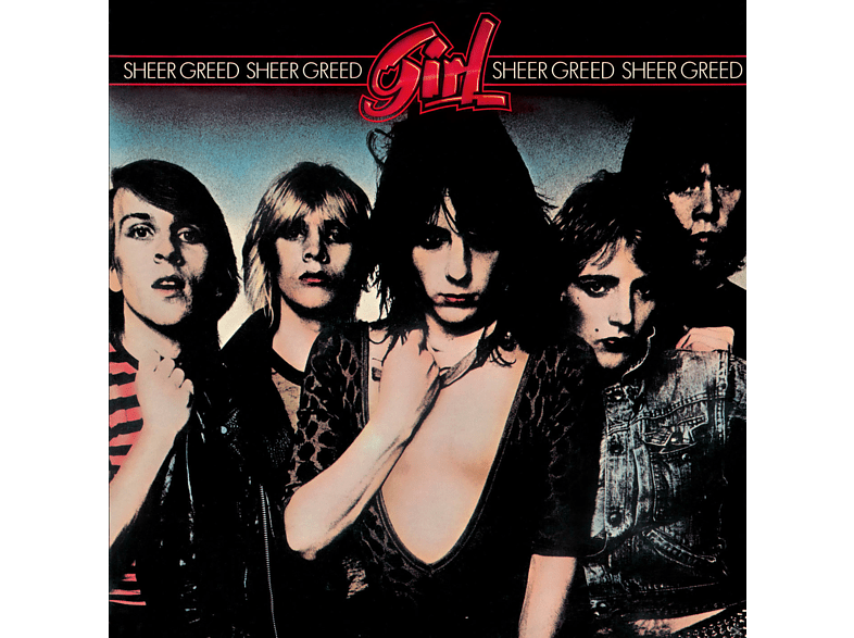 The Girl! - Sheer Greed (Lim.Collectors Edition) [CD]