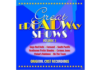VARIOUS - Ocr-Great Broadway Shows V.2 - (CD)