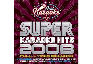 VARIOUS - Super Karaoke Hits 2008 - (CD)