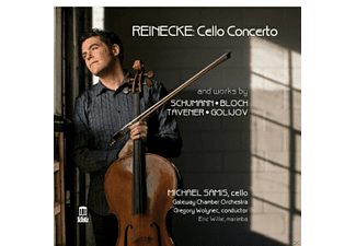 Michael Samis, Eric Willie, Gateway Chamber Orchestra - Cellokonzert/+ [CD]