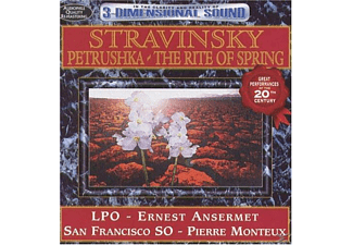 Lpo, Ernest Ansermet, Pierre Monteux, San Francisco So - Stravinsky-Petrushka & The Rit - (CD)
