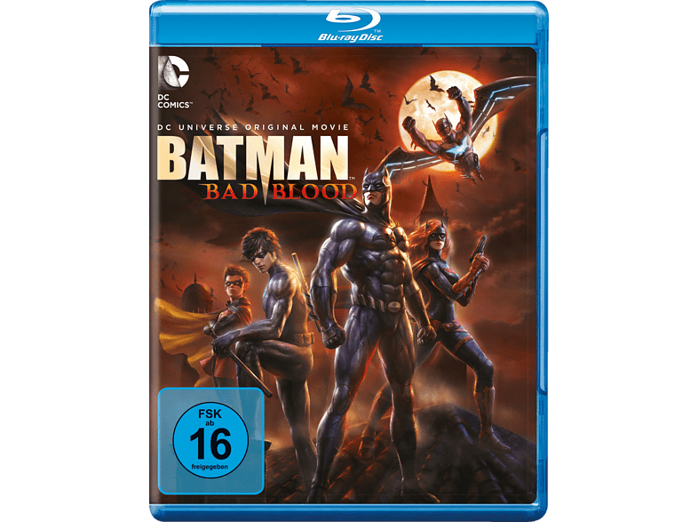 DCU Batman: Bad Blood [Blu-ray]