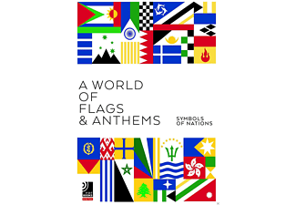 VARIOUS - Earbooks: A World Of Flags & Anthems - (CD + Buch)