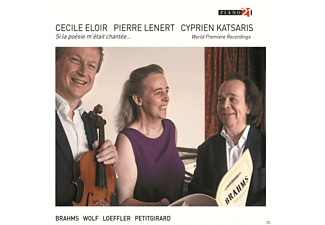 Cecile Eloir, Pierre Lenert, Cyprien Katsaris - Works For Alto,Viola & Piano [CD]