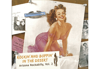 VARIOUS - Rockin And Boppin In The Desert - (CD)