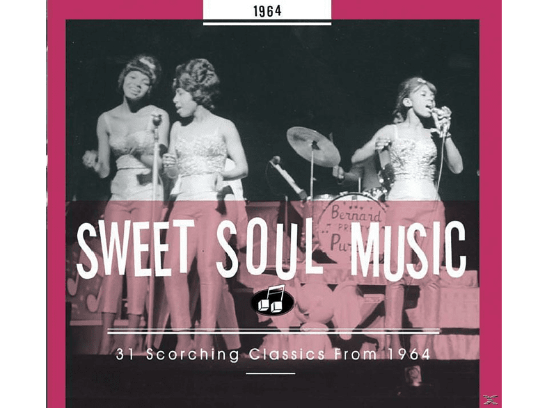 VARIOUS - Sweet Soul Music 1964 [CD]