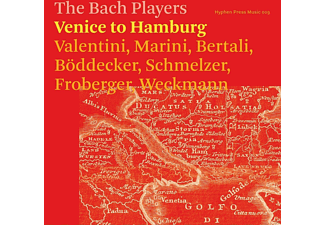 The Bach Players - Venice To Hamburg - (CD)