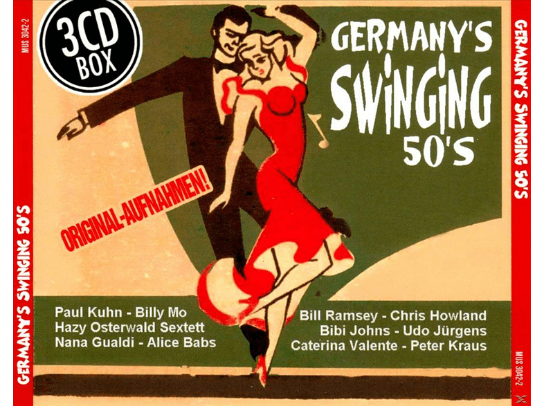 VARIOUS - Germany's Swinging 50's [Box-Set] [CD]