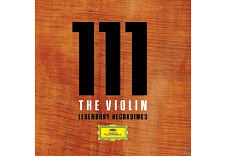 Yehudi Menuhin, David Oistrach, Mutter, Gidon Kremer, VARIOUS - 111 The Violin-Legendäre Aufnahmen - (CD)