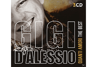 Gigi D'Alessio - Quanti Amori - The Best - (CD)