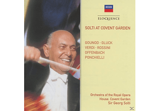 Georg/Orch.Royal Opera House Covent Garden Solti - Solti in Covent Garden - (CD)