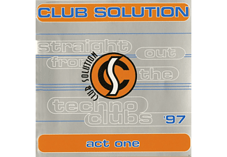 VARIOUS - Club Solution Act 1 - (CD)