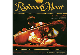 Raghunath Manet - Veena Recital-Anthologie - (CD)